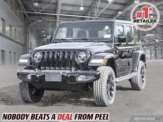 New 2021 Jeep Wrangler Unlimited Sahara for sale in Mississauga, ON