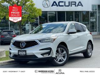Used 2020 Acura RDX SH-AWD Platinum Elite at for sale in Markham, ON