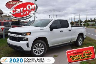 Used 2020 Chevrolet Silverado 1500 Custom 4X4 | NEW ARRIVAL | 20 ALLOYS | REAR CAM for sale in Ottawa, ON