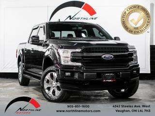 Used 2019 Ford F-150 LARIAT/BLIND SPOT/BACKUP CAM/NAV/PANO SUNROOF for sale in Vaughan, ON