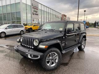 New 2021 Jeep Wrangler Unlimited Sahara for sale in Pickering, ON