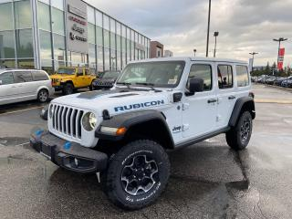 New 2021 Jeep Wrangler 4xe Unlimited Rubicon 4xe for sale in Pickering, ON