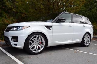 Used 2015 Land Rover Range Rover Sport SC Autobiography Dynamic 4WD for sale in Vancouver, BC