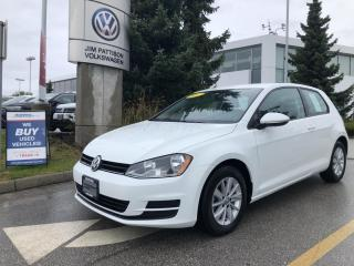 Used 2017 Volkswagen Golf 1.8 TSI Trendline, No Accidents, RARE MANUAL! for sale in Surrey, BC