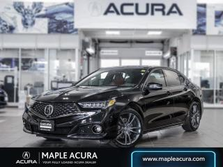 Used 2020 Acura TLX Elite A-Spec w/Red Leather for sale in Maple, ON