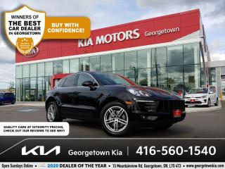 Used 2016 Porsche Macan S AWD   LTHR   HTD SEATS   BU CAM   B/T   ALLOYS for sale in Georgetown, ON