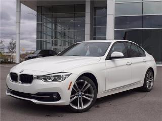 Used 2017 BMW 3 Series 330i xDrive Sedan. Navigation. Sunroof. Loaded. for sale in Concord, ON