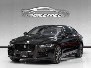 Used 2018 Jaguar XE 20d AWD R-Sport. Navigation. Sunroof. Driver Assist. Loaded. for sale in Concord, ON