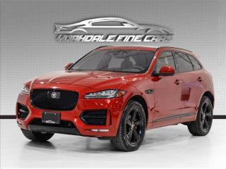 Used 2018 Jaguar F-PACE 20d AWD R-Sport. NAV. SUNROOF. CAM. DRIVER ASSIST. LOADED! for sale in Concord, ON