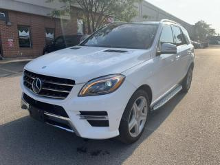Used 2015 Mercedes-Benz ML-Class 4MATIC 4dr ML350 BlueTEC, DISTRONIC, NO ACCIDENT for sale in North York, ON