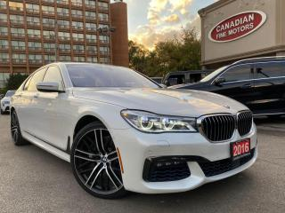Used 2016 BMW 750i xDrive M SPORTS PKG | 21'' WHEELS | NAVI | CAM | ROOF | SCREEN MIRR for sale in Scarborough, ON