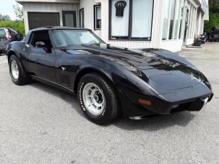 Used 1979 Chevrolet Corvette - LEATHER! A/C! POWER WINDOWS & LOCKS! for sale in Kitchener, ON