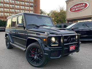 Used 2017 Mercedes-Benz G63 AMG AMG G63 | NAVI | CAM | BSM | 4 MATIC | for sale in Scarborough, ON