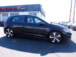 Used 2020 Volkswagen Golf GTI S 6 Speed Manual 2.0L Camera Apple Play Certified for sale in Milton, ON