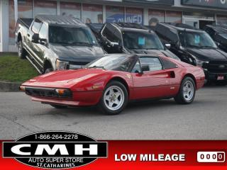 Used 1982 Ferrari 308 GTSi GORGEOUS-VEHICLE !! for sale in St. Catharines, ON