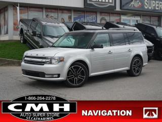 Used 2015 Ford Flex SEL  NAV CAM ROOF LEATH P/GATE 20-AL for sale in St. Catharines, ON