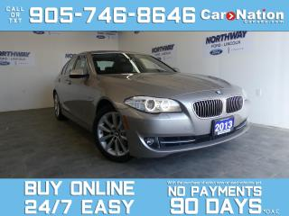 Used 2013 BMW 5 Series 528I   AWD   LEATHER   SUNROOF   WOW ONLY 52 KM! for sale in Brantford, ON