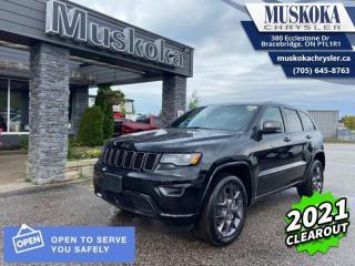 New 2021 Jeep Grand Cherokee 80th Anniversary Edition for sale in Bracebridge, ON