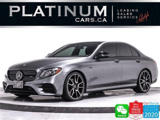Used 2018 Mercedes-Benz E-Class AMG E43 4MATIC, 396HP, DISTRONIC PLUS, NIGHT PKG for sale in Toronto, ON