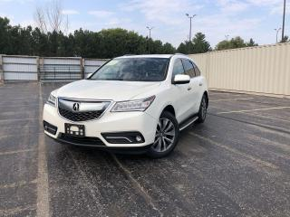 Used 2016 Acura MDX SH-AWD for sale in Cayuga, ON