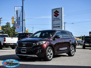 Used 2016 Kia Sorento 2.0L Turbo SX for sale in Barrie, ON