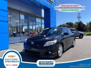 Used 2009 Toyota Corolla S PKG for sale in Bridgewater, NS