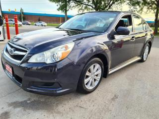 Used 2011 Subaru Legacy 4dr Sdn H4 Auto 2.5i Prem for sale in Mississauga, ON