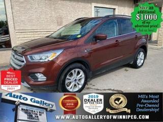 Used 2018 Ford Escape SEL* 4WD/SXM/Reverse Camera/HEATED SEATS for sale in Winnipeg, MB