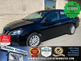 Used 2016 Nissan Sentra SV* Sunroof/SXM/Push Button Start/LOW kms for sale in Winnipeg, MB