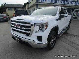 Used 2019 GMC Sierra 1500 LIKE NEW SLE-EDITION 6 PASSENGER 5.3L - V8.. 4X4.. CREW-CAB.. SHORTY.. TRAILER BRAKE.. X-31-PACKAGE.. HEATED SEATS & WHEEL.. BACK-UP CAMERA.. for sale in Bradford, ON