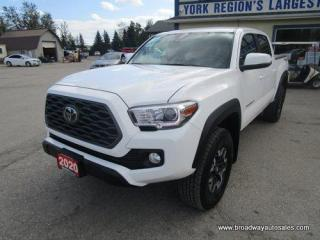 Used 2020 Toyota Tacoma GREAT SHAPE SR5-EDITION 5 PASSENGER 3.5L - V6.. 4X4.. CREW-CAB.. SHORTY.. NAVIGATION.. BACK-UP CAMERA.. BLUETOOTH SYSTEM.. KEYLESS ENTRY.. for sale in Bradford, ON