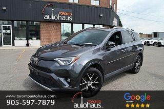 Used 2016 Toyota RAV4 SE I NAVI I SUNROOF I LEATHER I AWD for sale in Concord, ON