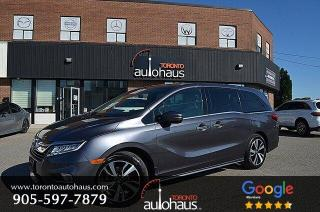 Used 2018 Honda Odyssey Touring I NAVI I SUNROOF I DVD I LEATHER for sale in Concord, ON