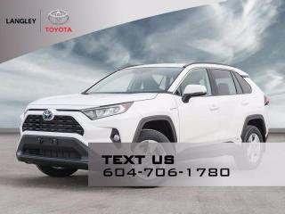 New 2021 Toyota RAV4 Hybrid XLE for sale in Langley, BC