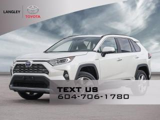 New 2021 Toyota RAV4 Hybrid Limited for sale in Langley, BC