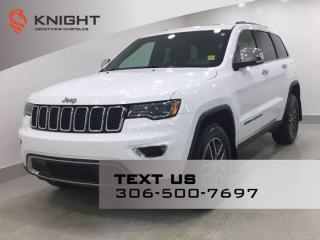 Used 2017 Jeep Grand Cherokee Limited | Leather | Sunroof | Navigation | for sale in Regina, SK