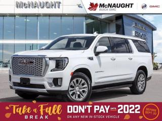 New 2021 GMC Yukon XL Denali for sale in Winnipeg, MB