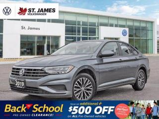 Used 2019 Volkswagen Jetta Highline, LOCAL ONE OWNER, APPLE CARPLAY, POWER SUNROOF for sale in Winnipeg, MB