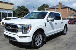 Used 2021 Ford F-150 PLATINUM for sale in Brampton, ON