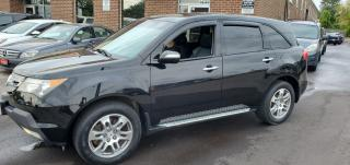 Used 2009 Acura MDX Tech pkg 7 Passenger for sale in North York, ON