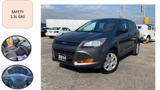Used 2014 Ford Escape AUTO SUV 2.5L SAFETY CERTIFED PW PL PM A/C for sale in Oakville, ON