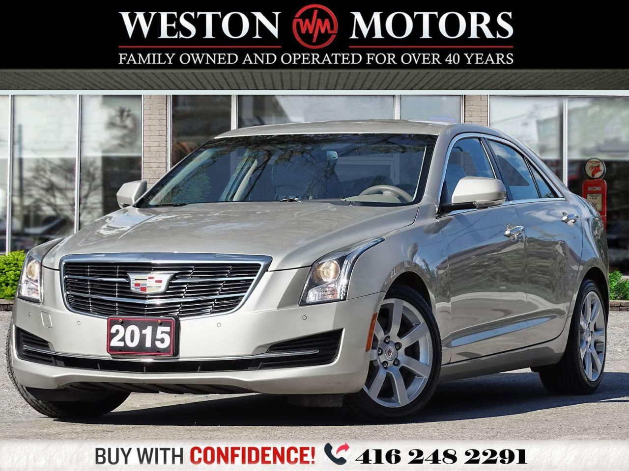 2015 Cadillac ATS LUXURY*LEATHER*REVCAM!!*