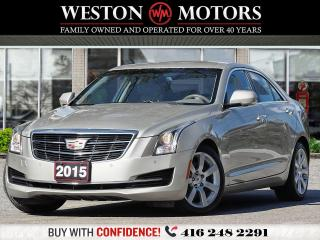 Used 2015 Cadillac ATS LUXURY*LEATHER*REVCAM!!* for sale in Toronto, ON