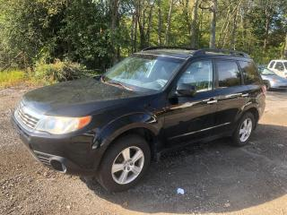 Used 2009 Subaru Forester X w/Premium Pkg for sale in Stouffville, ON