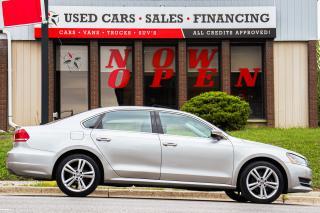Used 2013 Volkswagen Passat Comfortline | Auto | Leather | Sunroof | Alloys for sale in Oshawa, ON