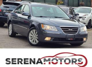 Used 2009 Hyundai Sonata LIMITED | V6 | FULLY LOADED VERY LOW KMS for sale in Mississauga, ON