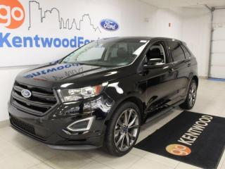 Used 2018 Ford Edge Sport   AWD   401a   Heated/Cooled Seats/Steering   Sunroof   NAV   Adaptive Cruise for sale in Edmonton, AB