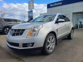 Used 2011 Cadillac SRX PREMIUM/LEATHER/PANOROOF/NAV/BACKUPCAM/DVD for sale in Edmonton, AB