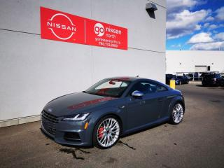 Used 2017 Audi TTS TTS/AWD/COUPE/DRIVERS ASSIST/DRIVE SELECT/BLACK OPTIC PACKAGE for sale in Edmonton, AB