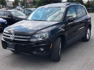 Used 2015 Volkswagen Tiguan Trendline|Navi|Leather|Camera|Roof| for sale in Bolton, ON